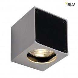 SLV 151504 Altra Dice WL 1 zilvergrijs / zwart wandlamp