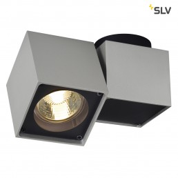 SLV 151524 Altra Dice Spot 1 zilvergrijs / zwart