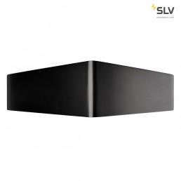 SLV 151730 cariso wl-3 zwart/messing 2xled 3000k