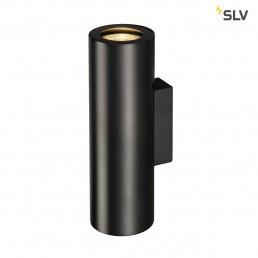SLV 151800 Enola_B Up en Down Zwart wandlamp