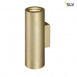 Actie SLV 151803 Enola_B Up en Down Messing wandlamp