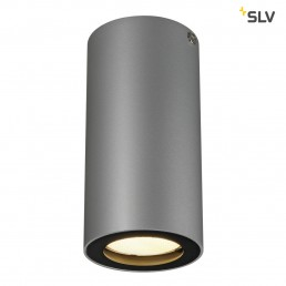 SLV 151814 Enola_B CL-1 zilvergrijs/zwart plafondlamp