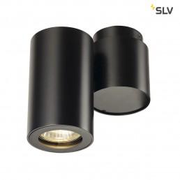 SLV 151820 Enola_B Spot 1 zwart wand- en plafondspot
