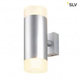 SLV 151901 Astina Up-down zilvergrijs wandarmatuur