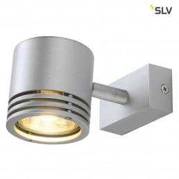 SLV 151912 Barro 1 zilvergrijs wand- en plafondspot