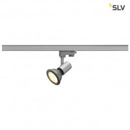 SLV 152204 E27 Spot zilvergrijs 3-fase railspot