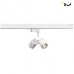 SLV 152231 Bima 2 GU10 mat wit 3-fase railverlichting