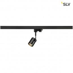 SLV 152240 Bima 1 GU10 mat zwart 3-fase railverlichting
