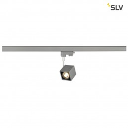 SLV 152324 Altra Dice GU10 zilvergrijs 3-fase railverlichting