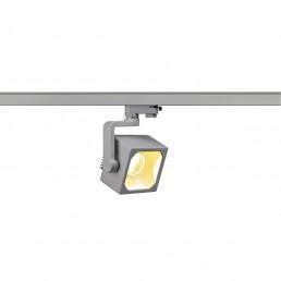 SLV 152744 Euro Cube 30º 2150lm zilvergrijs LED railverlichting