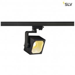 SLV 152760 Euro Cube 90º 1950lm zwart LED railverlichting