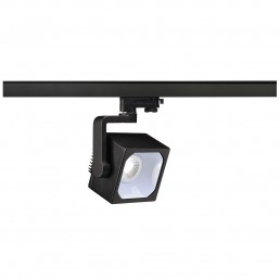 SLV 152770 Euro Cube 30º 2200lm zwart LED railverlichting