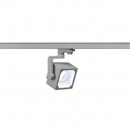 SLV 152774 Euro Cube 30º 2200lm zilvergrijs LED railverlichting