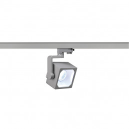 SLV 152784 Euro Cube 60º 2150lm zilvergrijs LED railverlichting