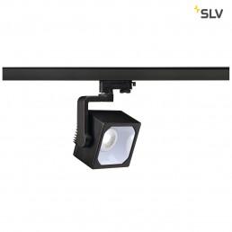 SLV 152790 Euro Cube 90º 2050lm zwart LED railverlichting