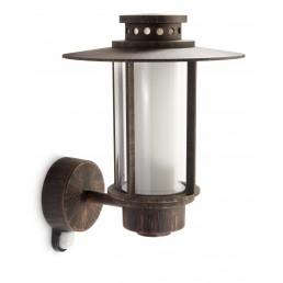 Philips Origin 153288616 roestbruin met sensor myGarden wandlamp