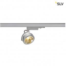 Actie SLV 153584 Kalu Track QRB111 zilvergrijs 3-fase railverlichting
