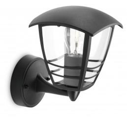 Aanbieding Philips Creek 153803016 zwart myGarden wandlamp
