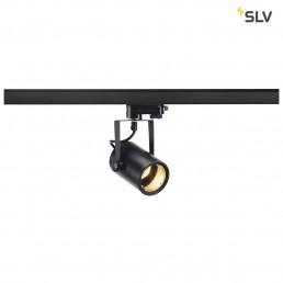 SLV 153850 Euro Spot GU10 zwart 3-fase railverlichting