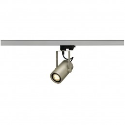 SLV 153904 Euro Spot Integrated LED 15º 2700K zilvergrijs railverlichting