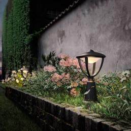 Philips Robin 154723016 zwart MyGarden vloerlamp