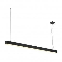 SLV 1001306 Q-Line single led zwart led kantoorverlichting