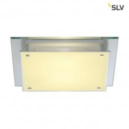 SLV 155180 Glassa Square E27 Chrome Wandarmatuur