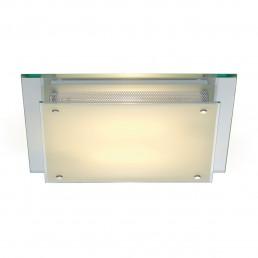 SLV 155190 Glassa Square TC-DE Chrome Wandarmatuur