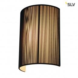 SLV 155340 Lasson WL-3 zwart wandlamp