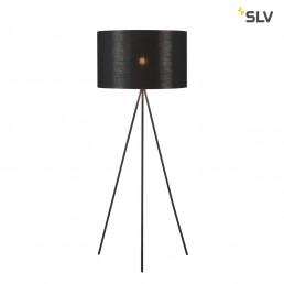 SLV 155490 fenda staande lamp driepoot zwart 1xe27