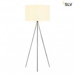 SLV 155492 fenda staande lamp driepoot chroom 1xe27