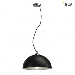 SLV 155500 Forchini PD-2 zwart / binnen zilver hanglamp