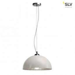 SLV 155501 Forchini PD-2 wit / binnen zilver hanglamp