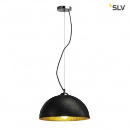 SLV 155510 Forchini PD-2 zwart / binnen goud hanglamp