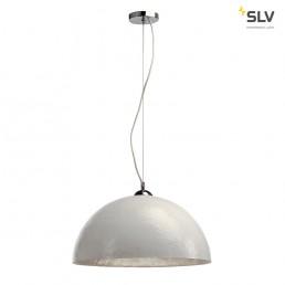 SLV 155521 Forchini PD-1 wit / binnen zilver hanglamp