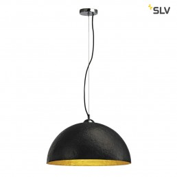 SLV 155530 Forchini PD-1 zwart / binnen goud hanglamp