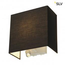 SLV 155670 Accanto Ledspot zwart wandlamp