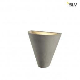 SLV 155751 Soprana solid WL-2 beton wandarmatuur