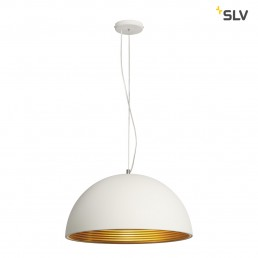 SLV 155931 Forchini M PD-1 wit/goud hanglamp
