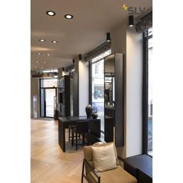 SLV 156420 Bilas LED zwart plafondspot