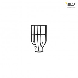 156960 SLV fenda lampenkap draadframe zwar 140x240mm