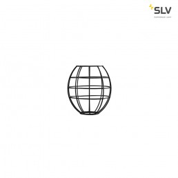 Actie 156970 SLV fenda lampenkap draadframe zwart 175x185mm