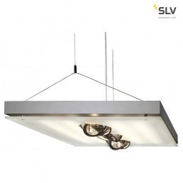 SLV 157112 T5 Grill QRB zilvergrijs kantoorverlichting
