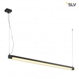 SLV 157670 Open Grill led single twist zwart