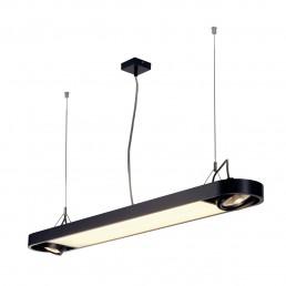 SLV 159090 Aixlight R Office T5, 39W zwart kantoorverlichting