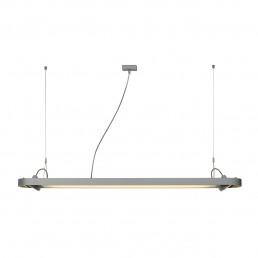 SLV 159114 Aixlight R Office T5, 54W zilvergrijs kantoorverlichting