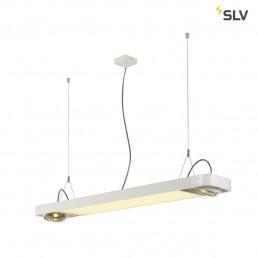 SLV 159131 aixlight r2 office led wit led, 2xes111