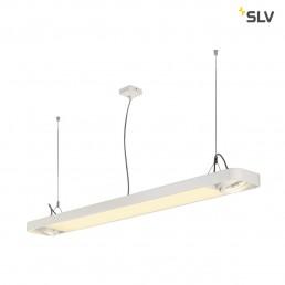 SLV 159141 aixlight r2 office led long wit led, 2xes111
