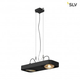SLV 159210 aixlight r2 duo zwart 2xgu10