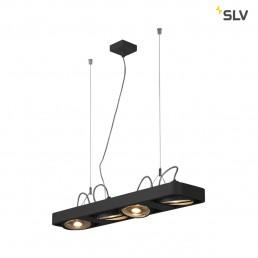 Actie SLV 159220 aixlight r2 long zwart 4xgu10